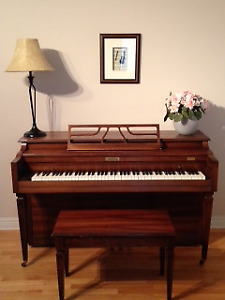 Piano et son banc