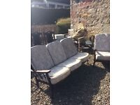 Ercol type sofa and chair