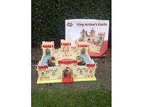 King Arthur's Castle wooden play set