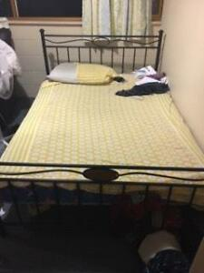 KING SIZE MATTRESS AND BED IN AN EXCELLENT CONDITION. MUST GO. Westmead Parramatta Area Preview