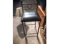 bar chairs x2 solid and commercial quality