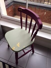 Chair upcycled project