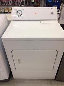 dryer for sale whirpool (used but warranty from store