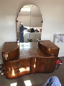 Original Wrighton Dresser and Wardrobe