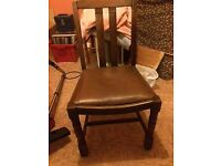 Wooden Dining Chair Set Of 4