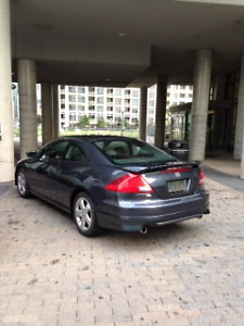 2007 Honda Accord Coupe MT V6