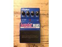 DigiTech Screamin' Blues Overdrive/Distortion pedal
