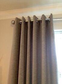 new grey curtains