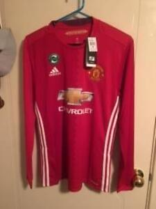 Manchester United Jersey******2017 Long Sleeve Yokine Stirling Area Preview