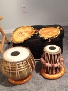 Tabla drum set and bag