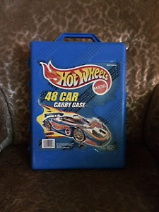 Hot Wheels 48 Car Carry Case with Cars