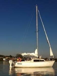 Trailer Sailer Southern Cross 23.7 feet Shoalhaven Heads Shoalhaven Area Preview