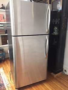 Kenmore Elite Stainless Steel Fridge - Good Working Order