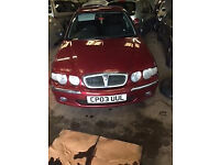2003 Rover 45 Impression 1.6 Petrol Breaking for Parts