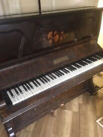 FREE TODAY COLLECTION ONLY - FULL SIZE PIANO Just TUNED!!