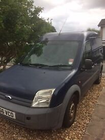 Dark blue Ford Transit Connect Van - with MOT until October -new brake pads yesterday