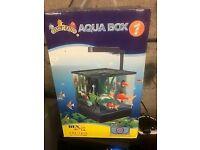 Fish R Fun Aqua Box 5.5L Aquarium New Colour Black