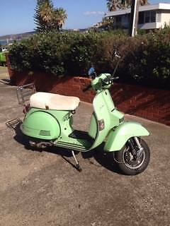 Mint Green LML Scooter Freshwater Manly Area Preview