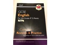 GCSE ENGLISH REVISION GUIDES + WORKBOOK - BRAND NEW AND EXTREMELY CHEAP!!!