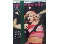 Hits of the 90's - Audition Vocal Score Book