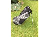 Inesis golf stand bag - lightweight so can be carried or used with a trolley