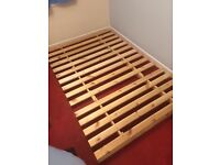 Wooden Futon with Mattress