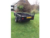 Car Trailer 8ft x 4ft. Made in Canada. good condition except floor needing some work