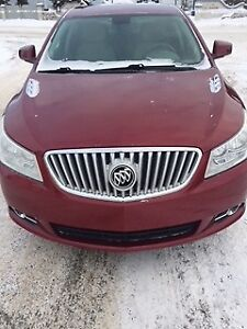 2011 Buick Lacrosse CXL 4 Door Sedan