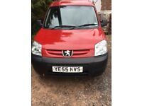 Peugeot Partner van. Price reduced. Good condition and good runner.