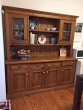 Kitchen Dresser - 2 -Piece - Vintage Colonial style, solid pine Bondi Beach Eastern Suburbs Preview
