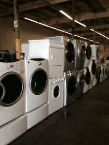 WASHER AND DRYER SALE! -- STACKER WASHER DRYERS avail.