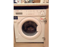 Bosch integrated washing machine in perfect condition