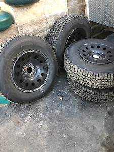 Studded winters and rims for newer Jeep Wrangler