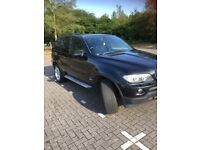 BMW X5, BLACK WITH LEATHER SEATS, SAT NAV, EXCELLENT CONDITION