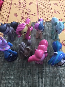 My little Pony Large Vinyl Collectibles, Set of 8
