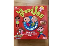 Educational game in French - Le grand jeu Les p'tits incollables