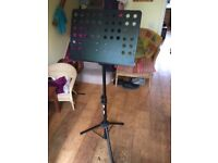 Professional stage music stand