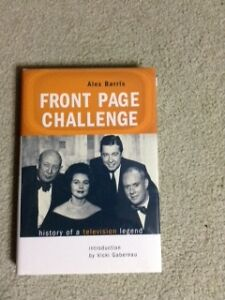 Front Page Challenge -- History of a Television Legend