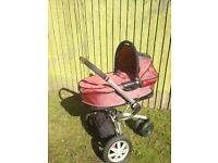 Quinny Buzz pram with carrycot