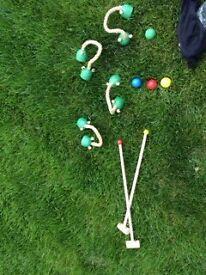 Childrens Croquet Set