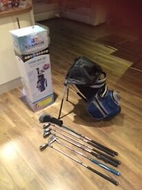 USA kids golf sets - 48 inch (aged 6-8) and 51 inch set (aged 7-9)