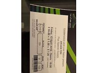 arcade fire tickets (4) for sale 13 april SSE