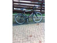 "Mountain bike 21""frame 23""wheels 18 gears Good condition"