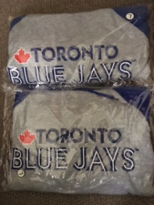 TWO BLUE JAYS HOODIES NEW IN PACKAGE SIZE LARGE