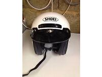 Shoei Open face helmet the RJ Platinum R.