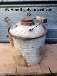 Antique Jugs, Cans & Tanks