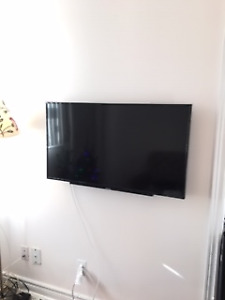 "Toshiba 40"" 1080p HD 60Hz LED TV - w/ wall mount"