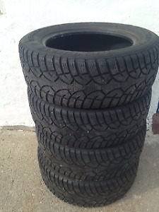 SNOW tires - set of 4, just in time for the snow