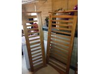 King size sleigh bed solid pine