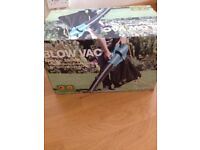 Blow vac for leaves